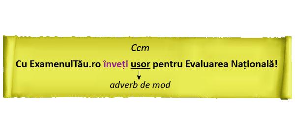 complementul circumstantial de mod - 02