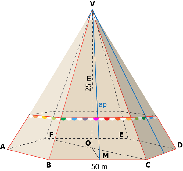 piramida hexagonala regulata - 02