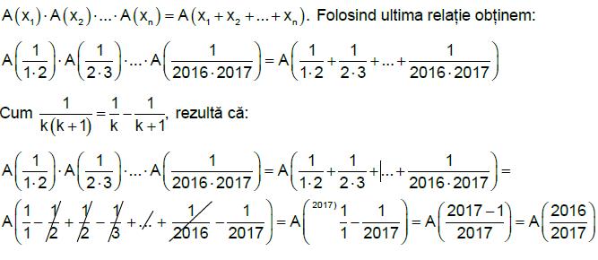 Rezolvari Subiecte Matematica BAC 2016 – Profil Matematica