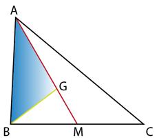 Centru de greutate triunghi
