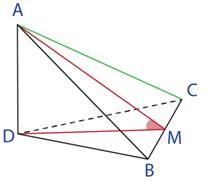 tetraedru ABCD
