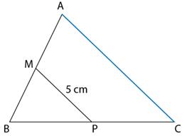 triunghi linie mijlocie