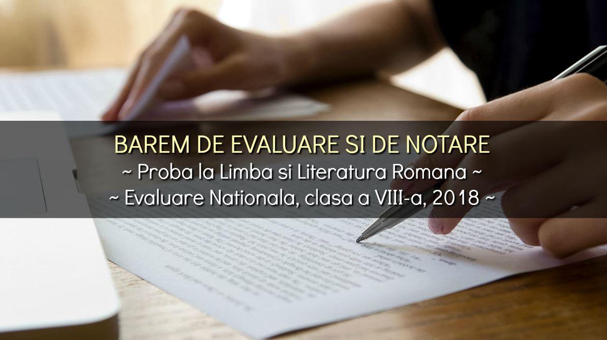 barem-evaluare-nationala-proba-romana-2018