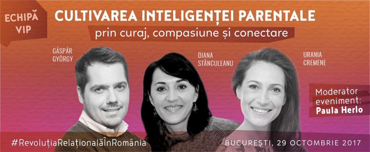 conferința Cultivarea inteligenței parentale prin curaj, compasiune și conectare