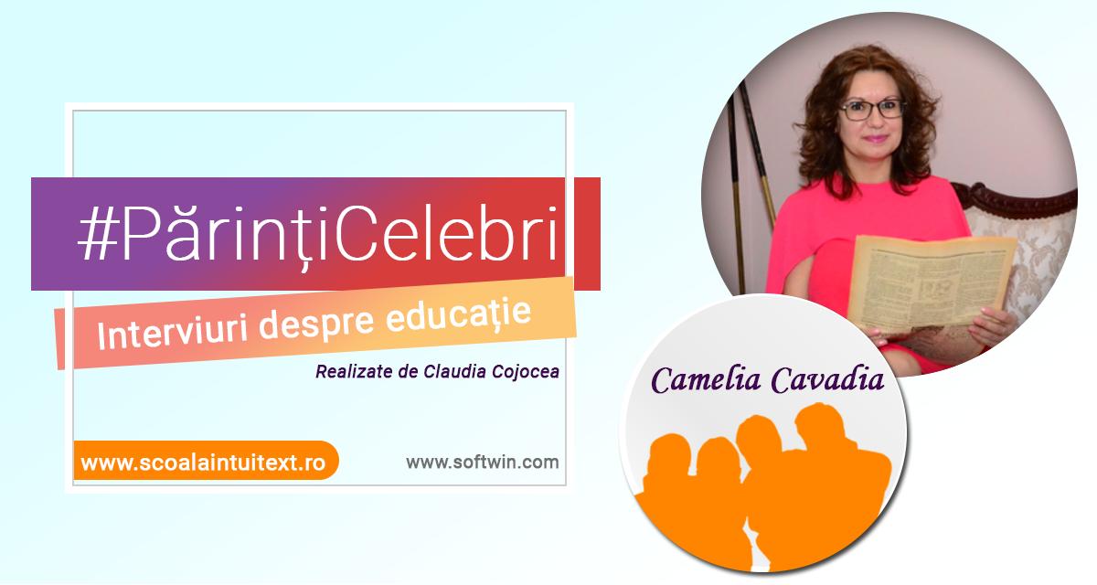 Interviu EXCLUSIV cu scriitoarea CAMELIA CAVADIA